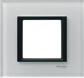 Рамка х1 стекло Белое стекло